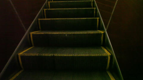 Moving subway elevator Stock Video Footage