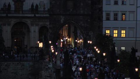Prague City 8 Stock Video Footage