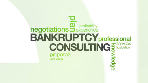 Bankruptcy Consulting Stock Video Footage
