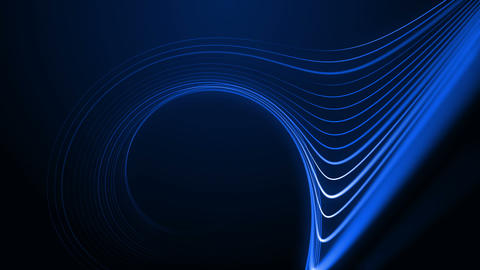 Curved Lines Stock Video Footage