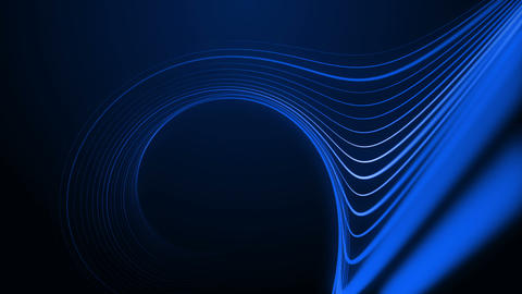Curved Lines Animation