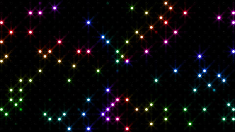 LED Wall 2 Bb 1 FR 2 HD Stock Video Footage