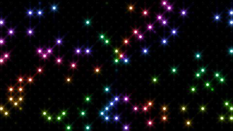 LED Wall 2 Bb 1 SR 2 HD Stock Video Footage