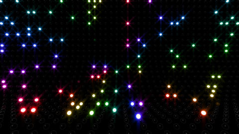 LED Wall 2 Eb 1 FR 2 HD Stock Video Footage