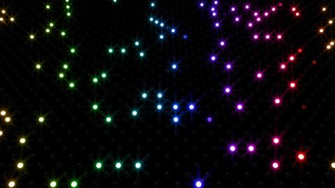 LED Wall 2 Gb 1 FR 1 HD Stock Video Footage