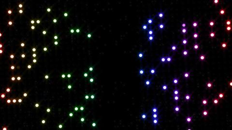 LED Wall 2 Ib 1 FR 1 HD Stock Video Footage