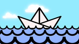 PAPER BOAT Animation