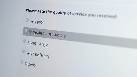 Customer Satisfaction Survey Macro Bad Live Action