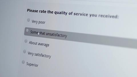 Customer Satisfaction Survey Macro Good Live Action