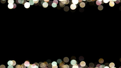 Particles Bokeh Frame 04 Animation