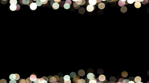 Particles Bokeh Frame 04 Animación
