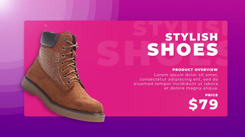 Store Promo After Effects Template