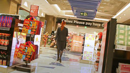 Inside Duty Free at Barcelona Airport Footage
