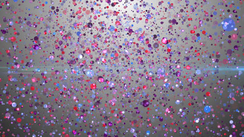 Particles dream glowing colorful wall background Animation
