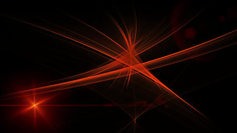 Red Linear Motion with Flare Animation