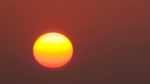 Beautiful sunrise. Time Lapse Footage