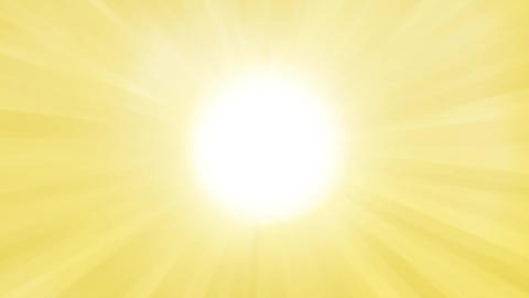 光の集中線 CG動画