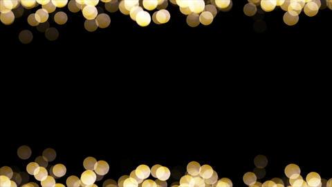 Particles Bokeh Frame 06 Animación
