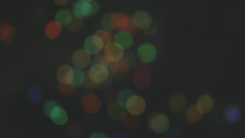 Defocus Lights Reflecting Footage