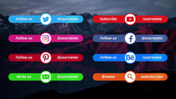 Social Media Lower Premiere Pro Template