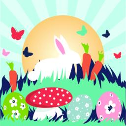 Easter greeting card ベクター