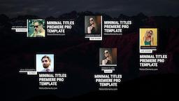 Foto Titles Premiere Pro Template