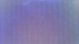 Image damage seen on a TV screen color 2 Live Action