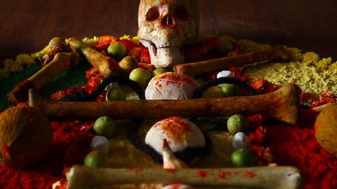 Skull and bones Footage