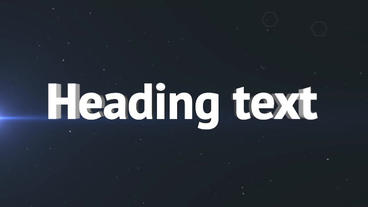 3D text Plantilla de After Effects