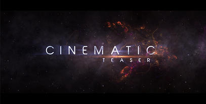 Teaser-Trailer After Effects Template
