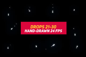 Liquid Elements 2 Drops 21-30 After Effects Template