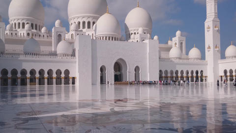 Sheikh Zayed Grand Mosque, Abu Dhabi Footage
