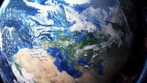 Earth Zoom In Zoom Out Berlin Germany Footage
