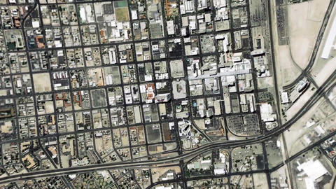 Earth Zoom In Zoom Out Las Vegas Nevada United States Footage