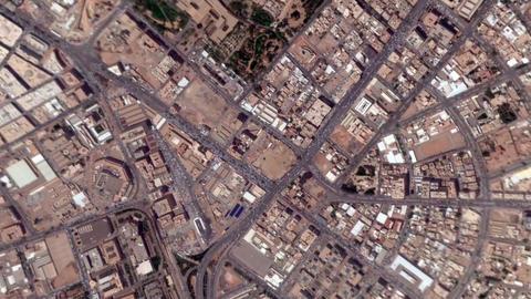Earth Zoom In Zoom Out Riyadh Saudi Arabia Footage