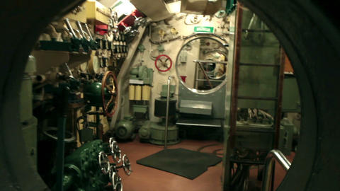 main command post submarine Footage