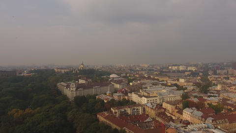 City Lviv, Ukraine Footage