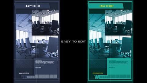 Business Promo Vertical After Effects Template