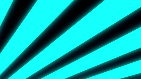 Blue Glow Lines Rotating Psychedelic Minimal Abstract Motion Background Loop Animation