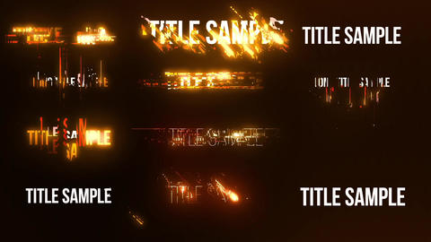 Energetic Titles After Effects Template