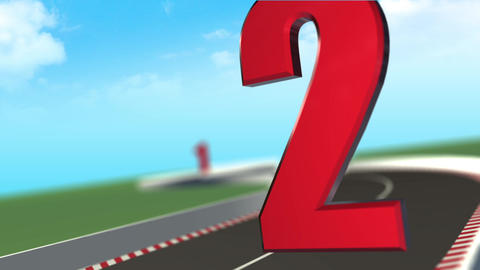 High Speed Racing 5 Countdown Animation