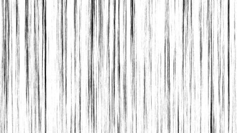 Loop Animation of Comic Speed Lines, Manga Frame Style, White Background Animation