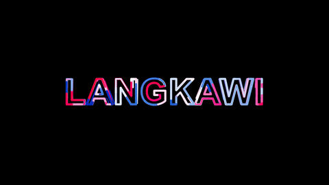 Letters are collected in city LANGKAWI, then scattered into strips. Alpha Animation