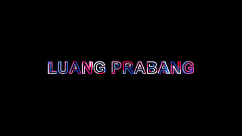 Letters are collected in city LUANG PRABANG, then scattered into strips. Alpha Animation