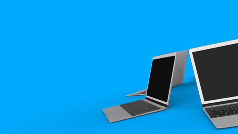 laptops-rotation-background Animation