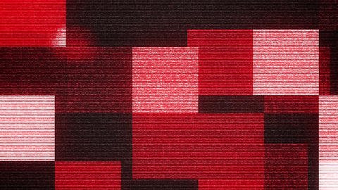 Purple, White and Red Squares Backdrop Animation