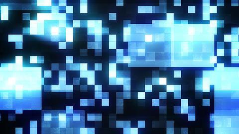 Multiform Shining Mosaic Squares Backdrop Animation