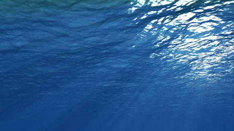 Underwater Motion Graphics background 4K Footage