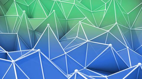 abstract seamless triangular background animation Animation