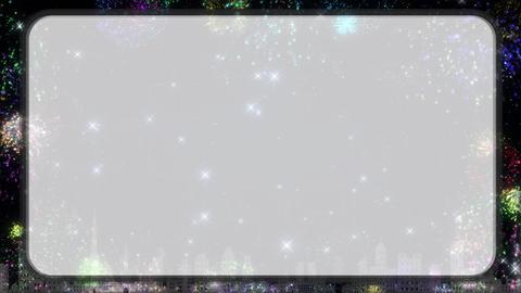 Fireworks loop CG動画素材